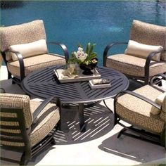 43 Cozy Patio Furniture Will Inspire You