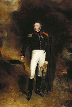 Prince Louis Antoine d'Artois, Duc d'Angoulême puis Dauphin de France (1775-1844) -futur roi Louis XIX-; by T. Lawrence, 1825.