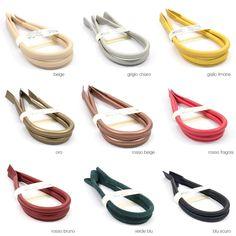 Manici artigianali in pelle per borse 63cm 2pz accessori sostituzione  ricambio a9f96b8d531
