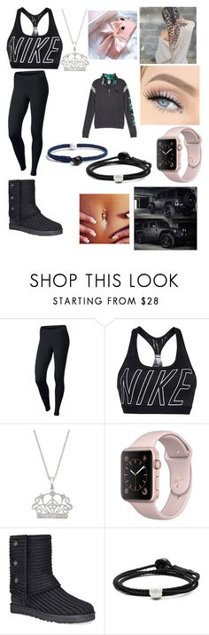 """Teen Wolf"" by lanimarie2002d on Polyvore featuring NIKE, Bloomingdale's, Wrangler, GET LOST, Victoria's Secret, UGG and Lokai"
