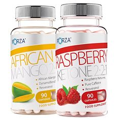 FORZA Weight Loss Pack - Raspberry Ketone 2:2:1 - African Mango 2:2:1 - 2 Pots of 90 Capsules has been published at http://www.discounted-vitamins-minerals-supplements.info/2015/11/24/forza-weight-loss-pack-raspberry-ketone-221-african-mango-221-2-pots-of-90-capsules/