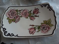 Ceramic Painting, Ceramic Bowls, Butter Dish, Decorative Items, Stained Glass, Mosaic, Ceramics, Tableware, Dishes
