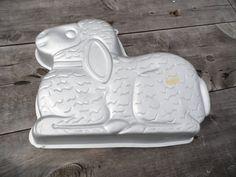 Wilton Lamb/sheep cake pan 1987 made Korea 13 by AuntSistersPicks Sheep Cake, Easter Dinner, Cake Pans, Lamb, Birthday Parties, Birthdays, Korea, Creative, Party