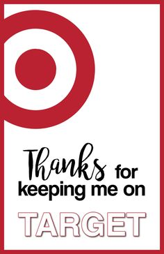 Target Thank You Cards Free Printable. Easy teacher appreciation gifts printable for Target gift card.Great coach thank you gift you teacher gift Target Thank You Cards Free Printable - Paper Trail Design