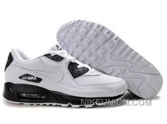 NIKE AIR MAX 90 BLACK DARK WHITE FREE SHIPPING Only $58.05 , Free Shipping!
