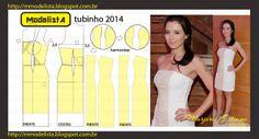 ModelistA: TUBINHO Ruched Tube Dress