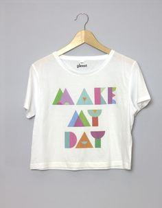 This t-shirt...Make My Day! <3 Buy on gleest.com