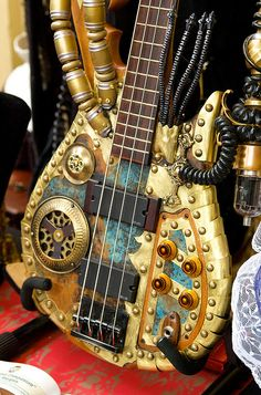 Steampunk bass!!  A VERY sick looking plate armored Bass (AE)