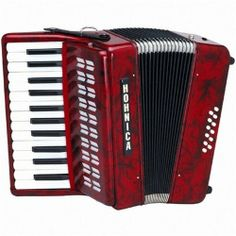 Hohner Hohnica Piano Student Accordion 12 Bass 25 Keys Red Pearl 1302 by Hohner. $317.00. From Hohner, one of the world's foremost accordion manufacturers, Hohnica student accordions provide playability for the budget-minded musician. Hohnica accordions provide playability for the budget-minded musician. Entry-level players enjoy making music with economical Honica accordions. This accordion is suited for many music styles like: Cajun, Irish Folk, Zydeco, Tejano, Norte...