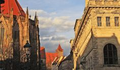 Sebalduskirche, Burg und Rathaus