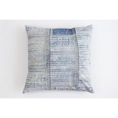 Boho Bohemian Rare Vintage Hmong Pillow Textile Batik Hand Dyed... ($45) ❤ liked on Polyvore featuring home, home decor, throw pillows, decorative pillows, home & living, home décor, silver, fabric home decor, blue throw pillows and navy accent pillows