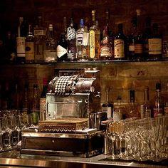 vintage home bar ideas