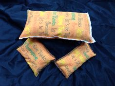 Handmade Heat & Cold Packs Licorice Scented on Etsy, $19.99