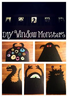 window monsters                                                                                                                                                                                 Plus