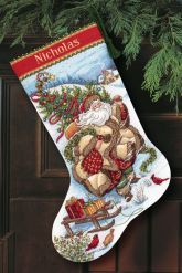 Thrilling Designing Your Own Cross Stitch Embroidery Patterns Ideas. Exhilarating Designing Your Own Cross Stitch Embroidery Patterns Ideas. Cross Stitch Christmas Stockings, Cross Stitch Stocking, Santa Stocking, Christmas Stocking Pattern, Xmas Stockings, Cross Stitching, Cross Stitch Embroidery, Embroidery Patterns, Hand Embroidery