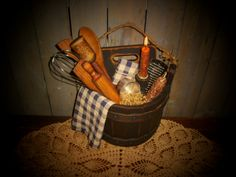 Primitive kitchen decor