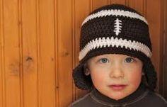 Football toddler hat