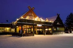 The Snow Elf Hotel & Apartments in Yllas #lapland #christmas