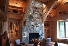 massive fireplaces - Google Search