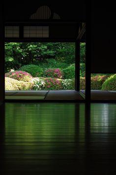 Shisen-do, Jozan-ji temple, Kyoto, Japan 詩仙堂 丈山寺
