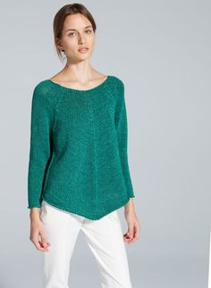 Uterque pointed hem sweater