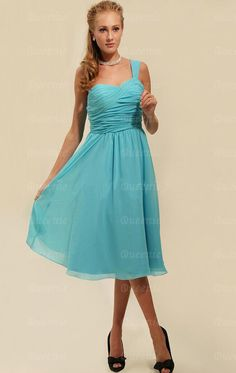 Discount Pale Blue Bridesmaid Dress LFNAG0032-Bridesmaid UK