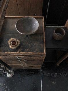 """Final Fragments"" Machimura Katsumi ceramics exhibition final day, ~18:00 「最終のフラグメント」 町村勝己 個展 最終日です、18時まで #pragmata"