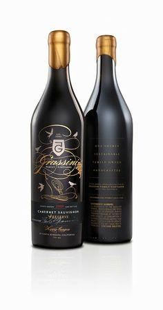 Grassini Family Vineyards Reserve and New Everyday Varietals (Concept) on Packaging of the World - Creative Package Design Gallery