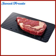 Sweettreats Fast Defrosting Tray Defrost Meat or Frozen Food Quickly Without Electricity Microwave Creative Kitchen Utilities