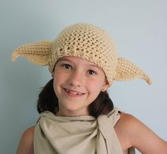The House Elf Hat (12 months-2T). $25.00, via Etsy.