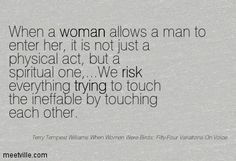Terry Tempest Williams Quotes | QUOTES AND SAYINGS ABOUT man