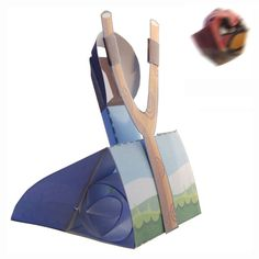 Picture of Angry Birds Paper Toy