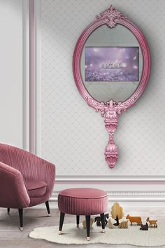 Discover the best furniture for a baby room decor inspired by  princesses.