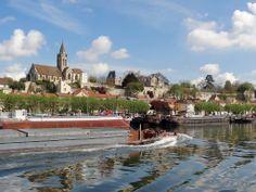 Conflans-Sainte-Honorine : navigation sur la Seine
