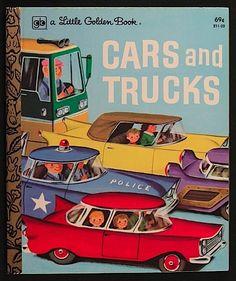 Cars & Trucks - Little Golden Book