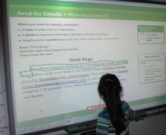 Smart Board Close Reading ( blog post includes step by step directions for traditional close reading)