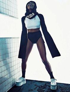 Наоми Кэмпбелл в Vogue Italia (Интернет-журнал ETODAY)