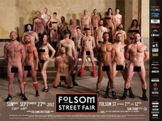 With porn tsars at folsom street fair were visited