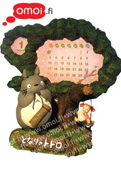 Totoro Photo Frame ornament Totoro Calendar [] - 28,00 EUR : Manga Shop for Europe, A great selection of anime products
