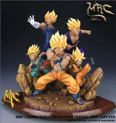 Cheap toy ear, Buy Quality fan for xbox 360 directly from China fan motor Suppliers: MODEL FANS Dragon Ball Z MRC 38cm all super saiya goku Vegeta Trunks Son Gohan Son Goten gk gk resin figure toy for Collection