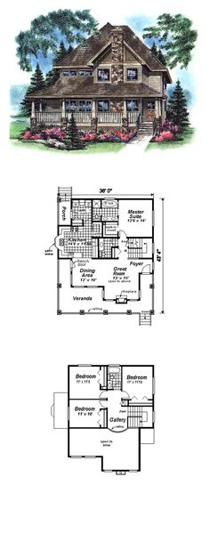Bungalow House Plan 98899 | Total Living Area: 1784 sq. ft., 4 bedrooms 2.5 bathrooms. #houseplan #bungalowstyle