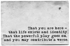 Walt Whitman O Me! O Life!1900 Poem no. 166, from Leaves of Grass