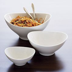 "Swoop 12"" Large Bowl in Serving Bowls 