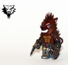 Apocalyptic Cyborg Werewolf Custom Minifigure ... COOOOL!