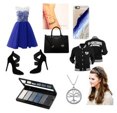 """blue princess x"" by kayleigh-jones-1 ❤ liked on Polyvore featuring Casetify, MICHAEL Michael Kors, Jewel Exclusive and Isadora"