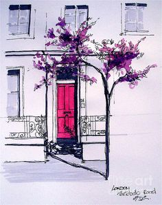 """"""" The Pink Door """"  by Dominique Eichi"""