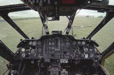 Westland Wessex Helicopter Cockpit
