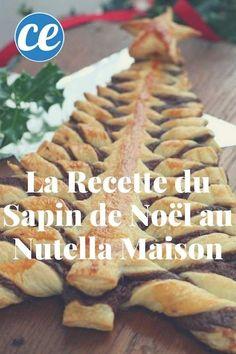 Délicieuse et Prête en 10 Min : La Recette du Sapin de Noël Fourré au Nutella Maison.