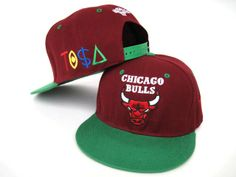 88b77965a50 Chicago Bulls NBA Hats dark red green Wholesale 3528