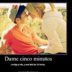 dame cinco minutos #love #amor